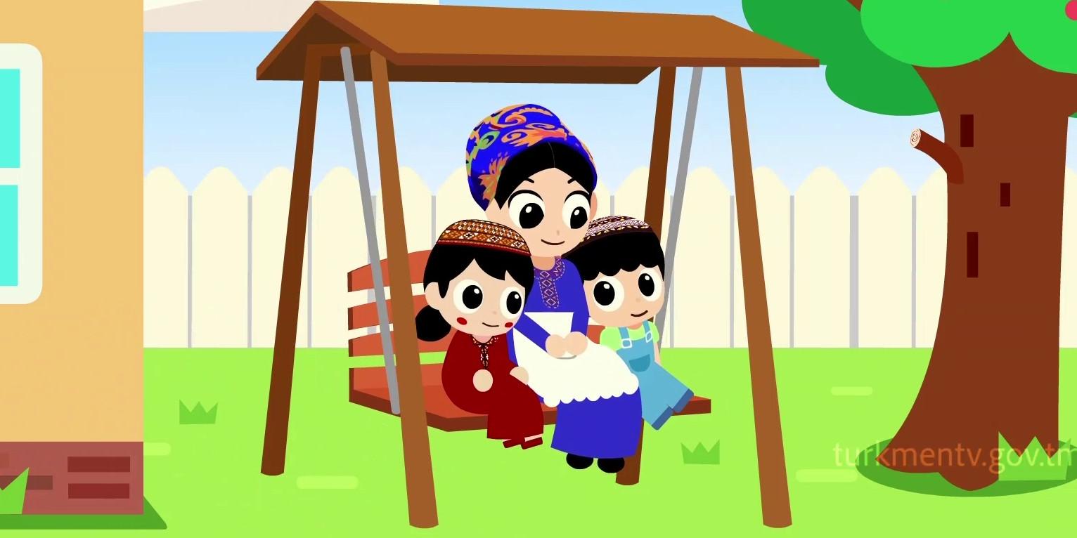 turkmen multfilmleri, 8 mart, zenanalar guni